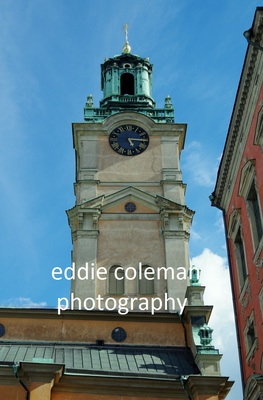 clock tower, old stockholm - SS20