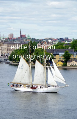 sailing in stockholm harbour - SSW35