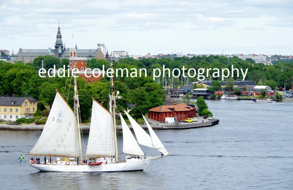 sailing in stockholm harbour - SSW36