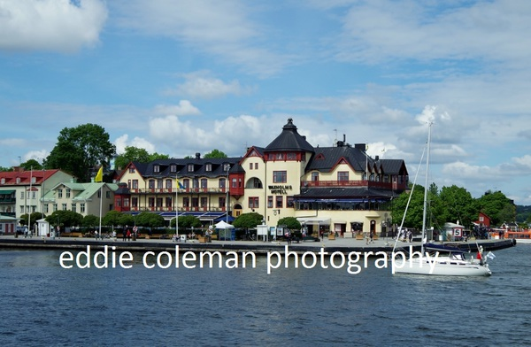 vaxholm from the ferry - SSAV1