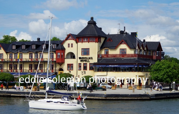 vaxholm from the ferry - SSAV2