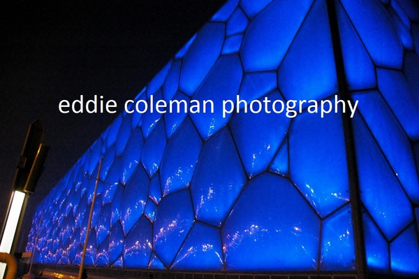 the water-cube at night - CB9