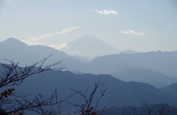 views of mt. fuji from mt. takao JT22
