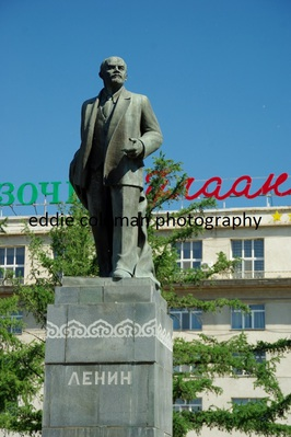 statue of lenin in ulan bator - MUB 12