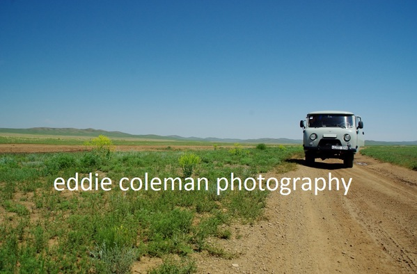 clear skies and wide open spaces and a russian 4x4 - MTGD1 5